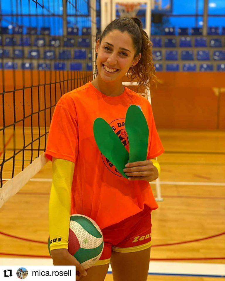 pie y voleibol